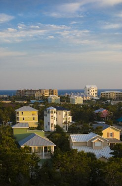 Santa Rosa Beach, Florida offers cozy Florida cottages to luxurious beachfront condos.